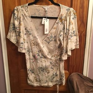 Lucky Brand XS/TP Floral Blouse New/Tagd